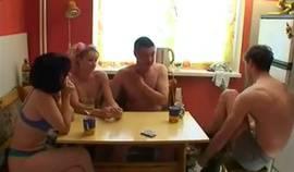 Swingers Play Strip Poker