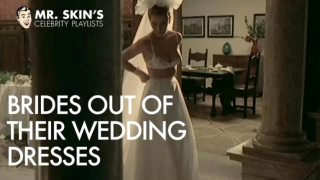 Celeb brides tear their dresses of and get fucked!