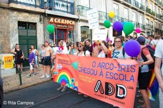 Rita Campos Marcha do Orgulho LGBT de Lisboa 2017 8