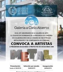 flyer galeria ca
