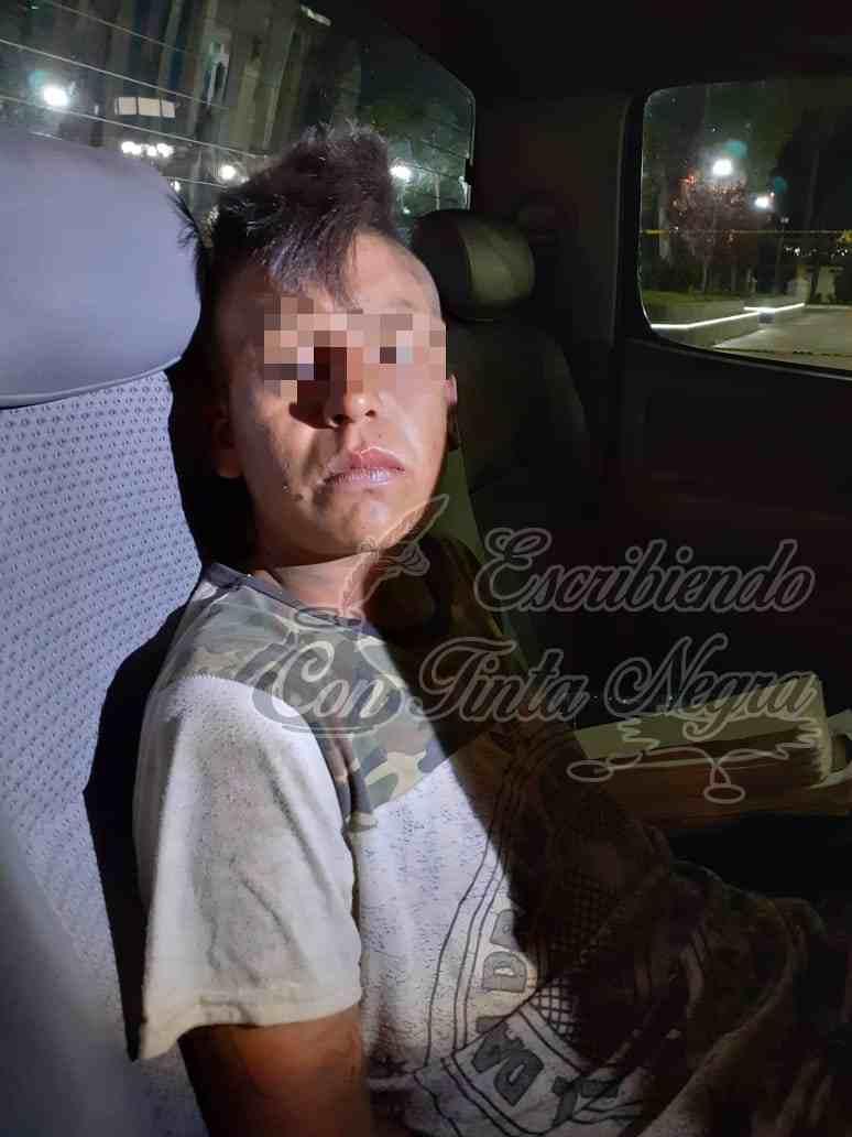 CAPTURAN A FEMINICIDA DE CHOCAMÁN