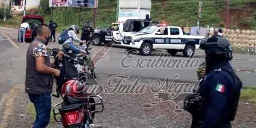 MANTIENEN OPERATIVOS DE SEGURIDAD EN LA ZONA