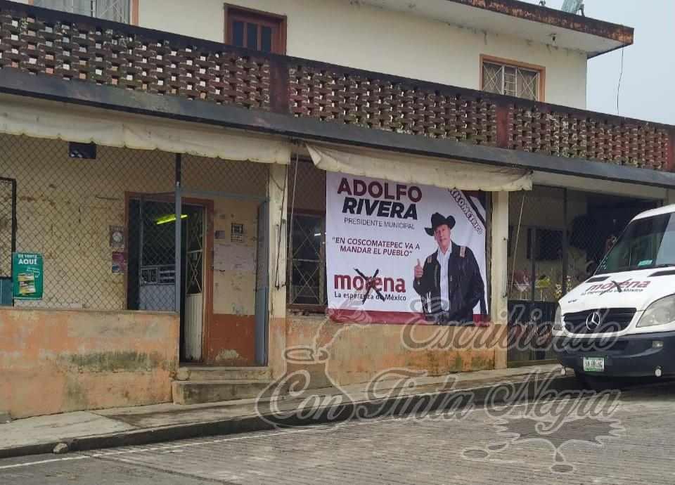 ADOLFO RIVERA HACE CAMPAÑA ¡EN CHOCAMÁN!