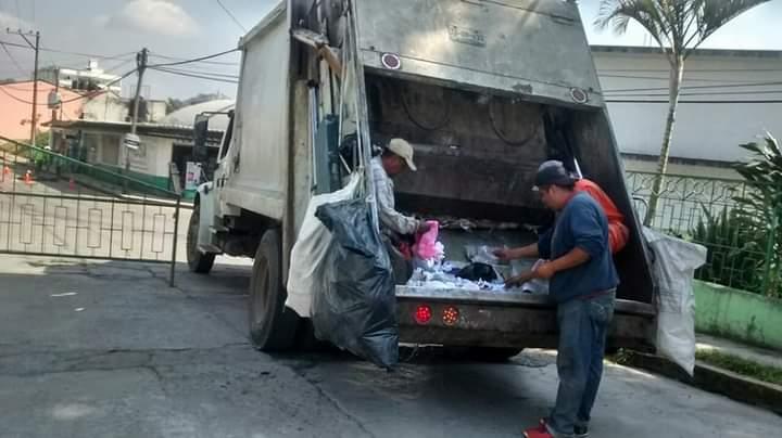 PIDEN MARCAR BASURA DE PACIENTES COVID