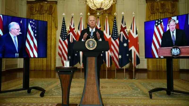 ESTADOS UNIDOS, AUSTRALIA Y REINO UNIDO ANUNCIAN PACTO DE DEFENSA PARA ENFRENTAR A CHINA