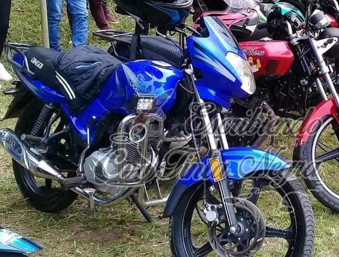 ROBAN MOTOCICLETA EN IXHUATLÁN