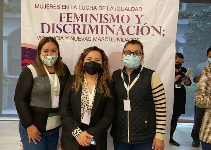 PARTICIPA SÍNDICA ELECTA EN FORO EN PRO DEL FEMINISMO Y CONTRA LA DISCRIMINACIÓN