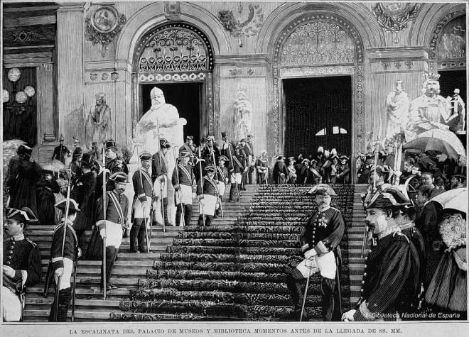 Inauguración Biblioteca Nacional de España