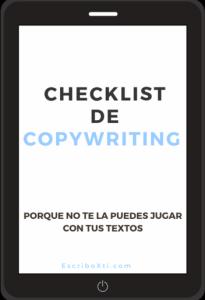Checklist de Copywriting