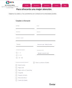 Formulario digital - solicitud de info