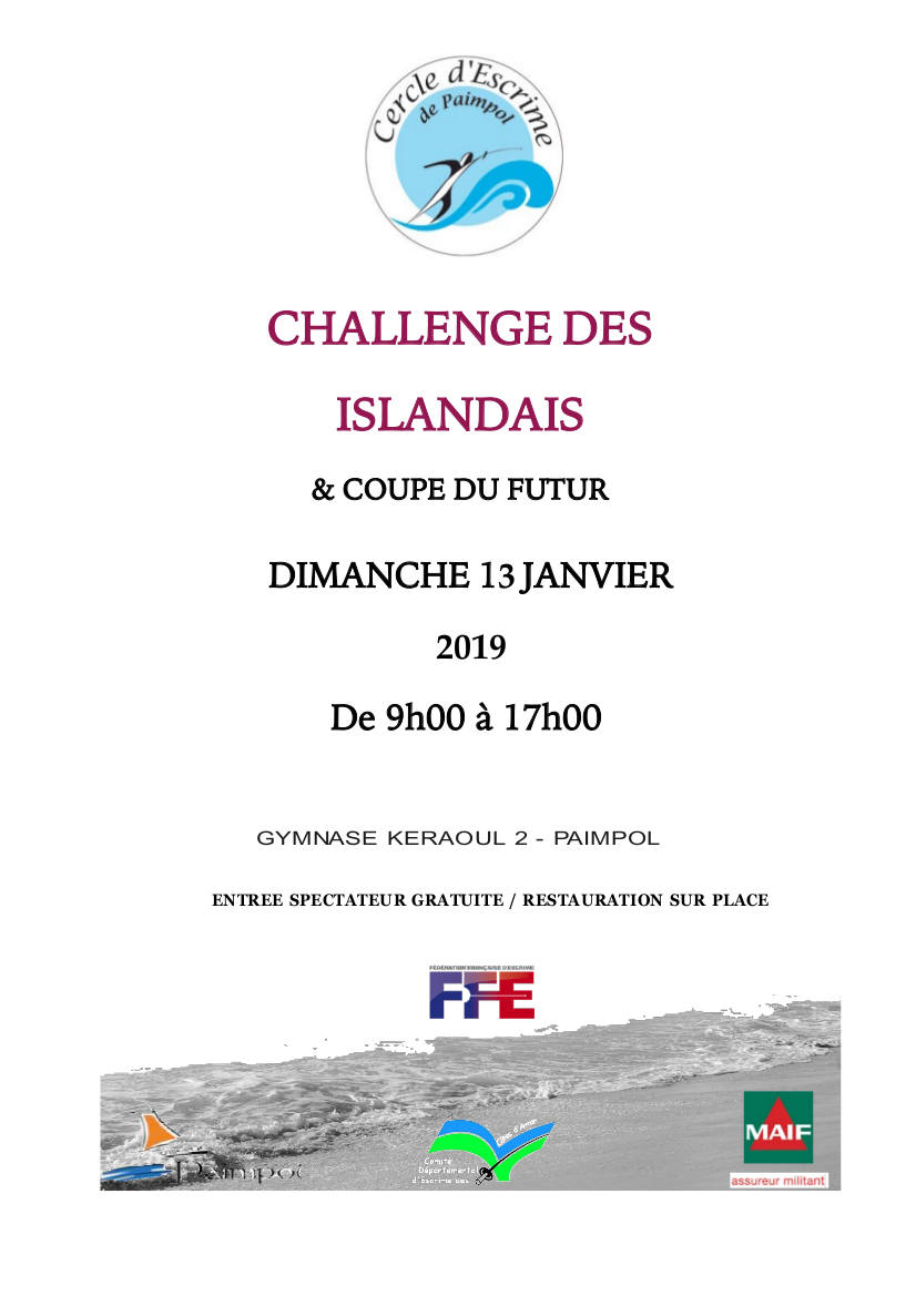 Challenge des Islandais 13 janvier 2019