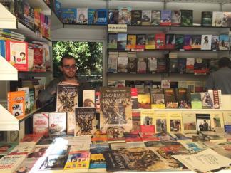 Pablo Gutiérrez en la Feria del Libro de Madrid