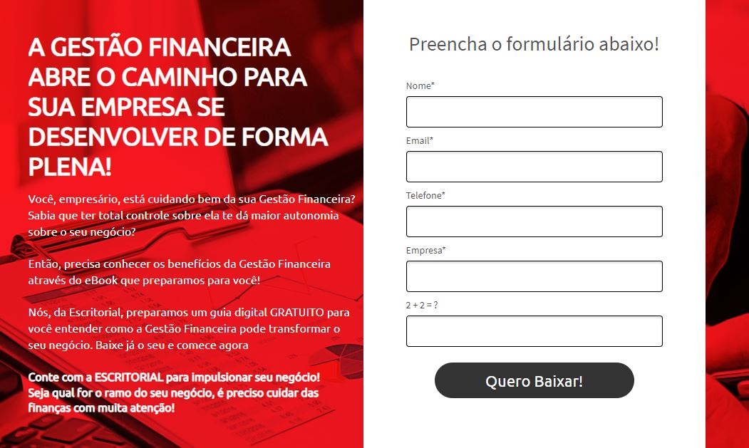 Gestao Ffinanceira - Contabilidade em Uberlândia | Escritorial Contabilidade