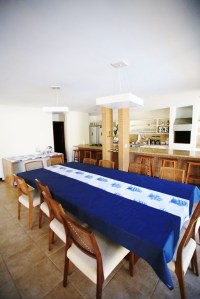 Casa do Ville - Cozinha e Sala de jantar