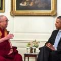 Budismo social - Dalai Lama Tenzin Gyatso reunido con Obama, Foto oficial de la Casa Blanca por Pete Souza