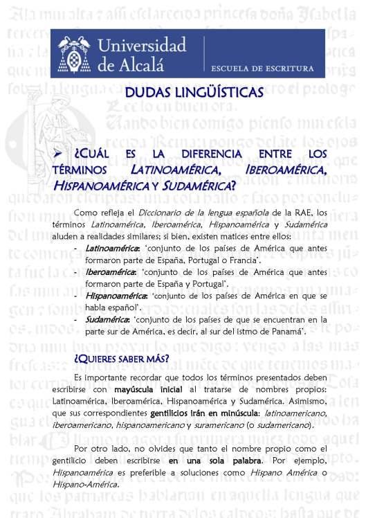 3. Hispanoamérica. Blog