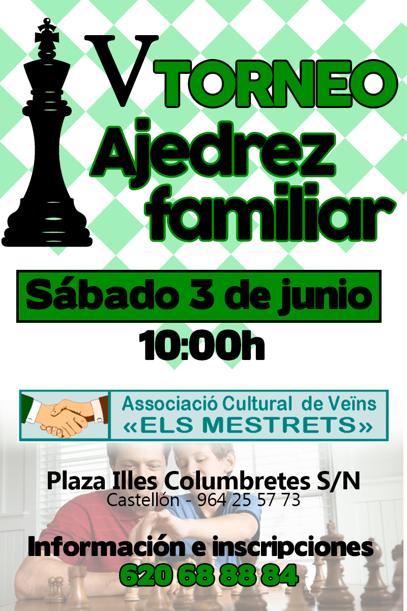 V Torneo ajedrez familiar