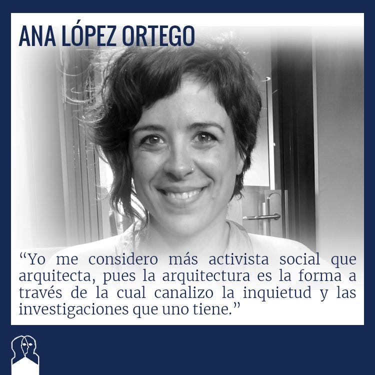 Ana López Ortego congreso arquitectura y persona