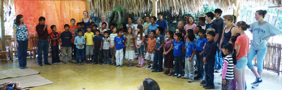 Emerson Waldorf School students visit Escuela Caracol