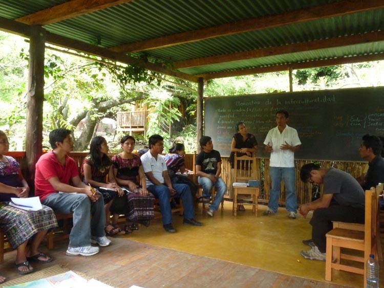 Intercultural Education Workshop with Genaro Vásquez