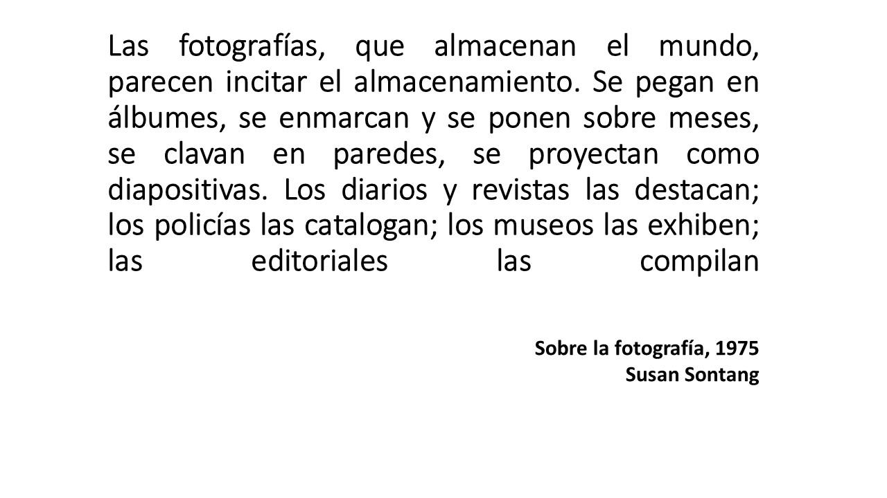 0 Sobre la fotografía