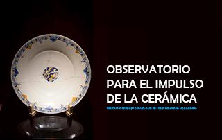 Observatorio para el impulso de la cerámica