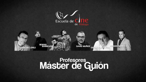 Escuela Cine Malaga Cursos Master Cine Series Cortometrajes Festival Profesores  rodaje Masterclass profesores-cine-profesores-guion
