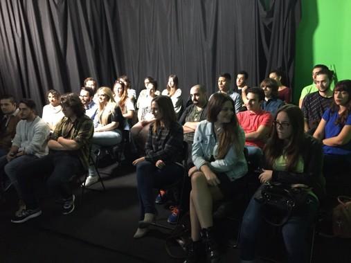 encuentro escuela cine Málaga f.j.arranz
