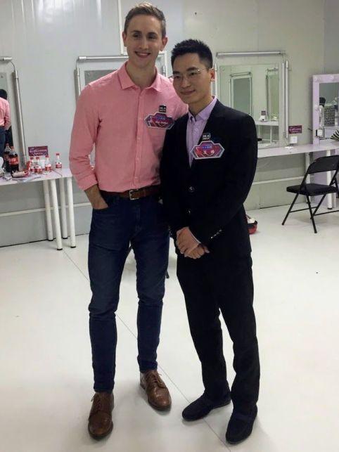 AlexMullen y Wang Feng