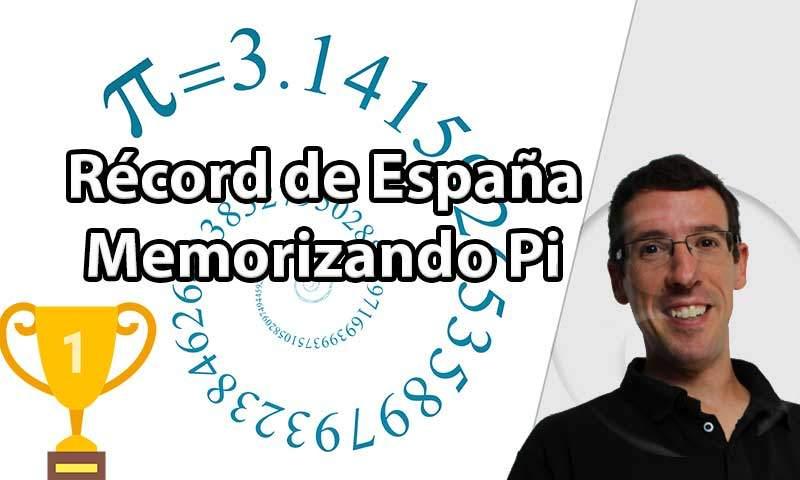 Récord-de-España-número Pi