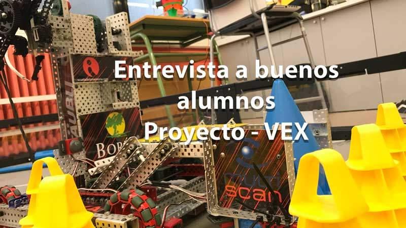 Entrevista alumnos VEX