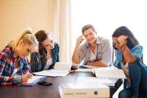 Estudiar en grupo