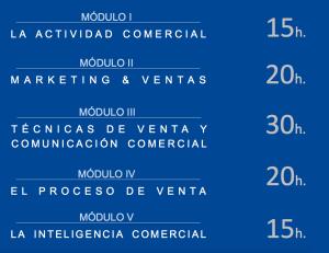 Modulos Escuela de Ventas Almeria Segunda edición