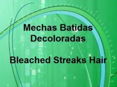 Mechas Batidas Del Cabello