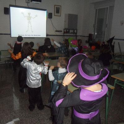 Halloween 2013 en la Escuela de Idiomas del Ave María