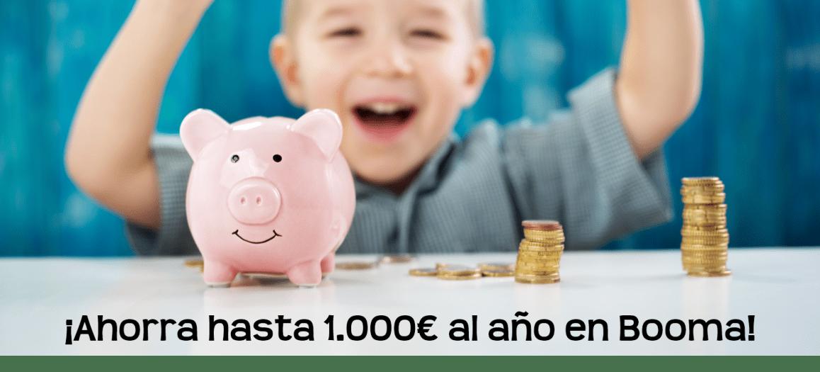 Cheque Guarderia Escuela Infantil Booma Talavera de la Reina