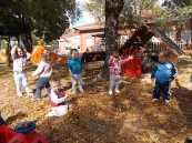 Nuestro patio en otoño