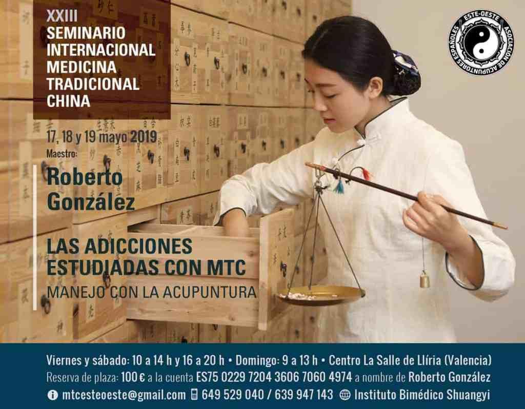 Adicciones en MTC - Seminario MTC Roberto González mayo 2019