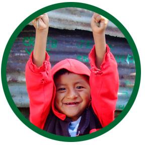 Boy in red hood