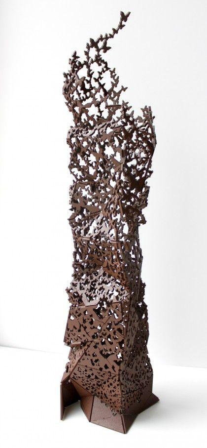escultura de chocolate 2