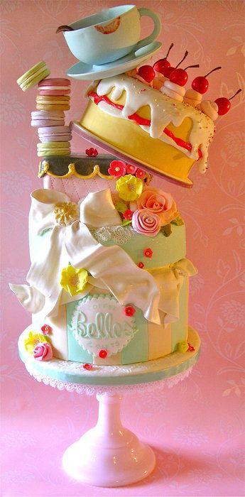 tortas hechas de tortas 4