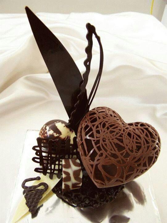 escultura de chocolate 5