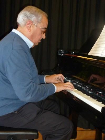 Alumno adulto de piano - Concierto 15/3/14 - Musikum