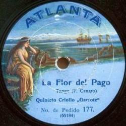 Atlanta Records Quitento Criollo Garrote
