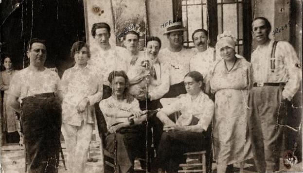 Eduardo Arolas in Uruguay, 1921. History of Tango. Escuela de Tango de Buenos Aires - Marcelo Solis