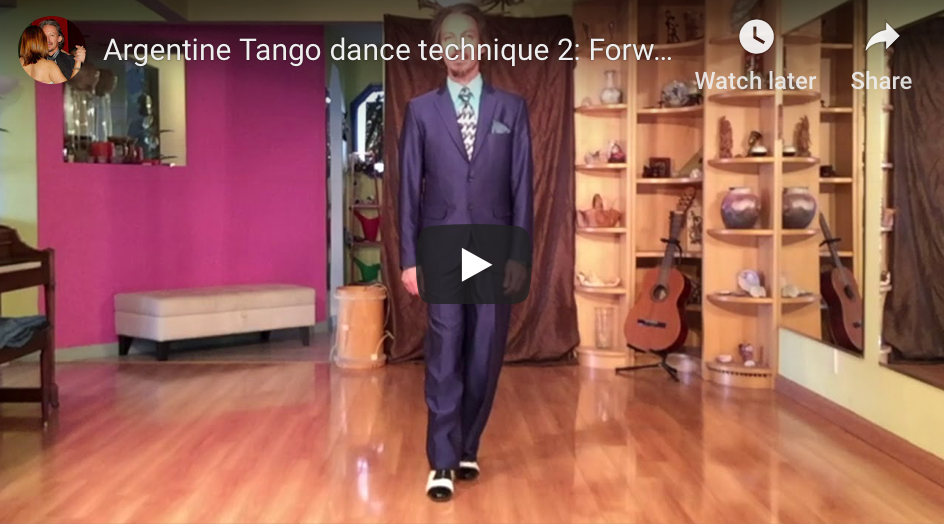 Forward backward pendulum. Argentine Tango classes at Escuela de Tango de Buenos Aires.