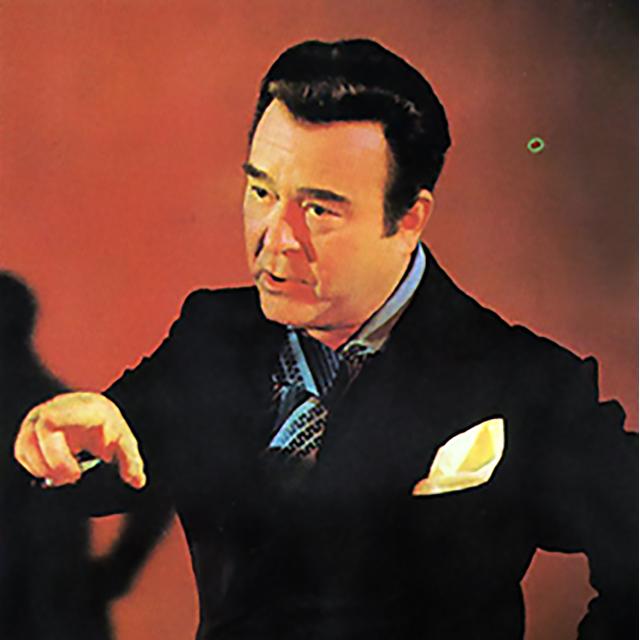 Alberto Castillo, Argentine Tango singer and composer.