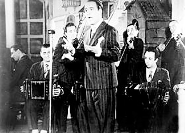 Alberto Castillo, great Argentine Tango singer