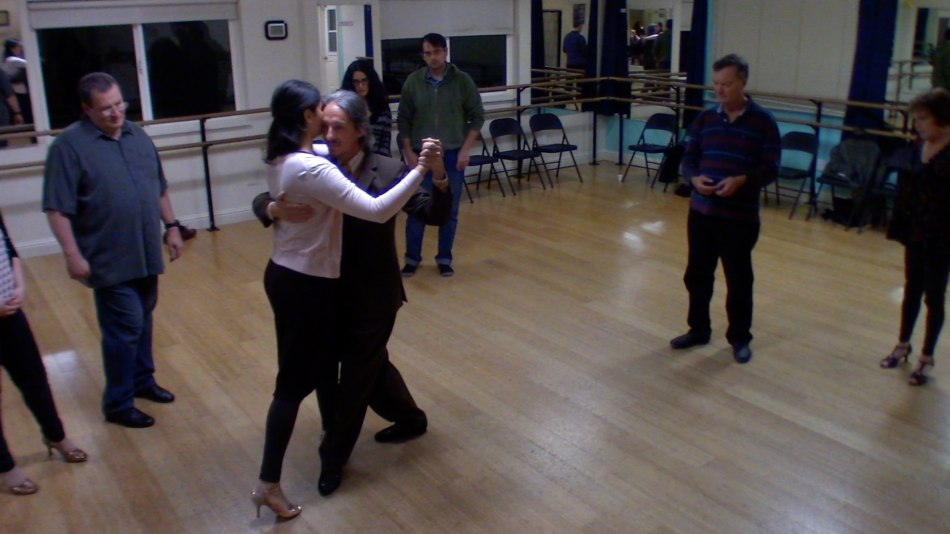 Argentine Tango beginner class with Mimi: change of system