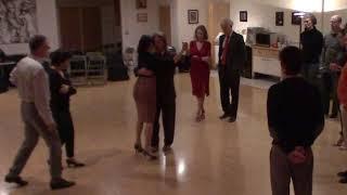 Argentine Tango beginner class with Miranda- crossed system walk on both sides